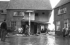ANP Historisch Archief Community - Maassluis-watersnoodramp-pui-evacuatie