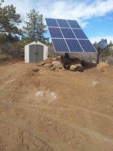 solar panel kit array