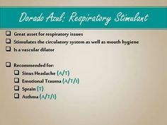 Dorado Azul: Respiratory Stimulant