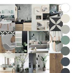 Taupe Living Room, Living Room Interior, Interior Presentation, Colour Schemes, Living Room Designs, Gallery Wall, New Homes, House Design, Interior Design