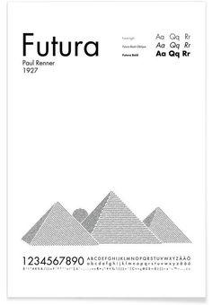 Futura als Premium Poster von Per Nilsson | JUNIQE