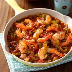 Shrimp Creole & Rice