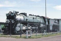 GN S2 class 2584 at Havre,MT June 23rd 1984.