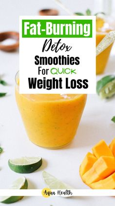 Weight loss smoothie recipes are very popular these days. The interesting thing about these detox smoothies is that they can be used as meal replacements. Here are the three detox smoothies to help you slim down! #3healthsmoothierecipes #easyweightlosssmoothies #weightloss