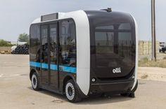 mini bus Olli imprimé en 3D!!  http://www.lifestyl3d.com/impression-3d-industrie-automobile-affaire-roule/