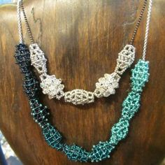 Gorgeous Skyscraper Necklace by Bead Works 2014 Designer of the year, Laura Andrews.