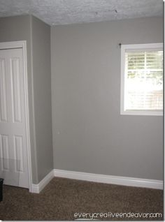 Wood Smoke By Glidden. Not My House, But This Is The Color In Front