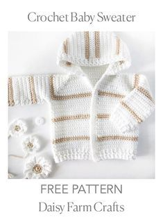 Simple baby sweater crochet pattern for experienced cardi crochet makers.Simple single crochet baby sweater pattern for experienced cardigan crochet makers. But if you are a bold beginner, just try and see if how I write theSimple pattern for experienced Cardigan Au Crochet, Crochet Baby Sweater Pattern, Crochet Baby Sweaters, Crochet Baby Blanket Beginner, Crochet Baby Jacket, Baby Sweater Patterns, Crochet Clothes, Baby Knitting, Cardigan Pattern