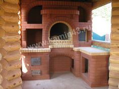 Bbq Grill, Barbecue, Grilling, Simple Outdoor Kitchen, Wood Oven, Grill Design, Stove, Mansions, House Styles
