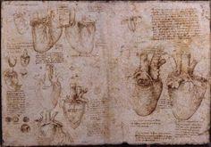 as Rhomany says - art journaling before it got all cool and funky - Leonard da Vinci's journal.