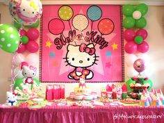 Decoration for Hello Kitty Party
