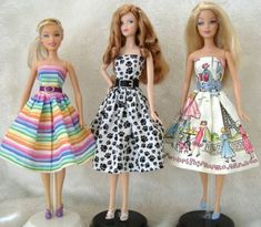Free Doll Sewing Patterns - Barbie