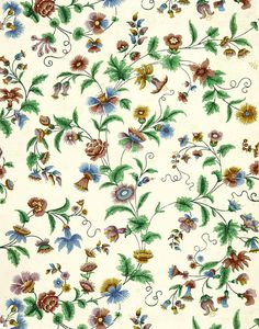 antique French chinoiserie wallpaper peony and passion flower Peony Illustration, French Illustration, Digital Illustration, Chinoiserie Wallpaper, More Wallpaper, Passion Flower, Digital Wall, Textile Prints, French Antiques