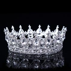 Cheap Hair Jewelry, Buy Directly from China Suppliers:Hot European Designs Vintage Peacock Crystal Tiara Wedding Crown Bridal Tiara Accessories Rhinestone Tiaras Crowns Pageant Royal Crowns, Royal Jewels, Tiaras And Crowns, Crown Jewels, Princess Crowns, Pageant Crowns, Princess Cakes, Princess Bridal, Royal Tiaras
