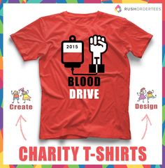 42e084a4b 47 Best Fundraising & Charity Designs images | Fundraising, Shirt ...