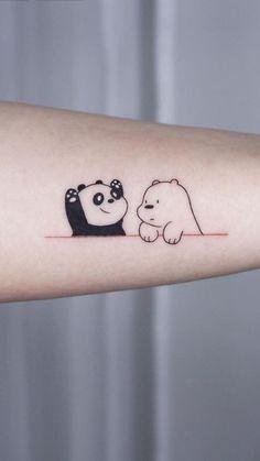Cute Animal Tattoos, Cute Girl Tattoos, Baby Tattoos, Little Tattoos, Mini Tattoos, Couple Tattoos, Finger Tattoos, Body Art Tattoos, Small Tattoos