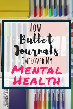 5 Ways Bullet Journals Improve Mental Health - Planning Mindfully Learn how bullet journals improve mental health! This guide provides insight to why you may find bullet journals helpful if you struggle with mental health. Bullet Journal How To Start A, Bullet Journal Spread, Bullet Journals, Mental Health Plan, Improve Mental Health, Bujo, Bullet Journal Mental Health, Journal Prompts, Journal Ideas