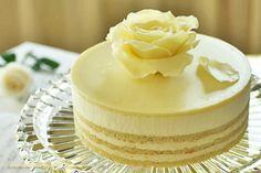 L'Opéra Cake (Almond/ Grapefruit liquor/ buttercream) layered cake from scratch Ice Cream Desserts, Mini Desserts, Chocolate Desserts, Sweet Recipes, Cake Recipes, Dessert Recipes, Mini Cakes, Cupcake Cakes, Cupcakes