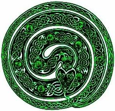 Recycle Reuse Renew Mother Earth Projects: Make a Snake Wreath for St. Celtic Art, Irish Celtic, All About Snakes, Celtic Druids, Elbow Tattoos, Animal Symbolism, Spooky Scary, Snake Tattoo, Celtic Designs