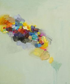 "Saatchi Online Artist Yangyang pan; Painting, ""Abstract Landscape #22"" #art"