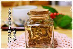 体の中から綺麗になれるごぼう茶