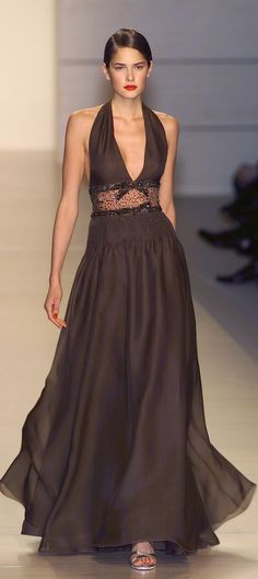 Brown Valentino Gown