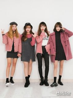 Here Are Some Best korean fashion outfits 9546 Korean Fashion Trends, Korea Fashion, Kpop Fashion, Cute Fashion, Asian Fashion, Fashion Online, Girl Fashion, Fashion Outfits, Fashion Design