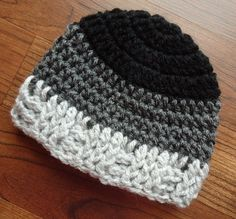 Crocheted Baby Boy Hat Crocheted Baby Beanie  by KaraAndMollysKids, $14.00