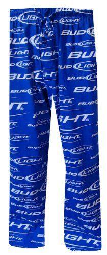 Bud Light Classic Logo Blue Lounge Pants