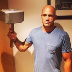 #ThorsActualHammer. Stole it. Straight on eBay. by kellyslater