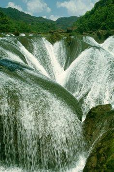 Huangguoshu Waterfall (The Pearl Waterfall), China