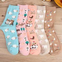 e0761170bd4 1pair Small Animal Cotton Cute Cartoon Cat Harajuku Socks Women Warm Xmas  Socks