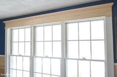 25 Astonishing Eksterior & Interior Window Trim Ideas for Your Dreamed House! - Home Decor Ideas Farmhouse Trim, Farmhouse Windows, Farmhouse Style, Farmhouse Ideas, Victorian Farmhouse, Country Style Curtains, Interior Window Trim, Interior Walls, Interior Ideas