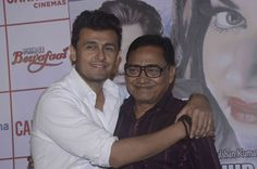Agam Kumar Nigam and Sonu Nigam at Kya Batau Single launch, Sonu Nigam, Agam Kumar Nigam, Hanif Hilal, lyricist Sawan Kumar, Kya Batau, #kyabatau #agamkumarnigam #sonunigam
