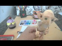 Pintura com pastel seco no biscuit - YouTube