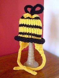 Free Knifty Knitter Earflap Hat Pattern