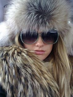 If you are heading to Courchevel, I highly suggest you sport some fur, even if its of the imitation variety.  Wear it and you will look like a regular ski bunny.