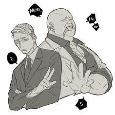 Gangsta: Cursed - Gangsta. - Koshke - Twitter