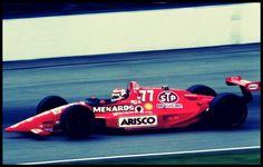Nelson Piquet, Lola Menards 77 (Buick V6 Turbo) @ Indy 500 1993