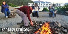The Wilderness Cruise, for 2017, runs from Juneau to Juneau, AK. The first sailing date for this cruise is May 15, 2017 and spots are booking quickly. smallalaskaship.com   800-234-3861