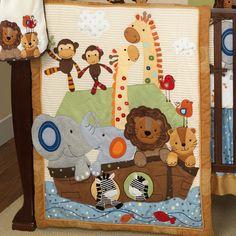 Cute Noah's Ark blanket