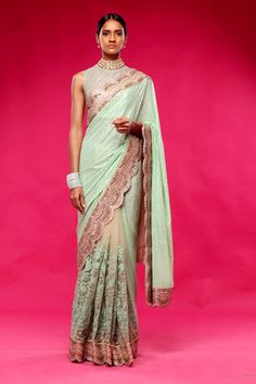 Sabyasachi Couture Sari Collection 2015
