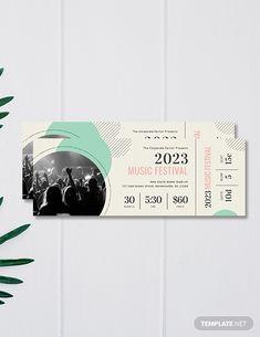 Free Printable Concert Ticket Template Concert Ticket Gift, Concert Ticket Template Free, Event Ticket Template, Music Tickets, Label Templates, Templates Printable Free, Blogger Templates, Instagram Photo Booth, Billet Concert