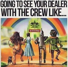 We're off to see the dealer! This wonderful dealer of ours!