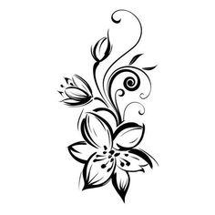 Pin by shpon shponkai on abra tattoos, zen tattoo, flower vine tattoos. Zen Tattoo, Body Art Tattoos, Sleeve Tattoos, Tatoos, Stammestattoo Designs, Henna Designs, Flower Vine Tattoos, Illustration Blume, Flower Tattoo Shoulder