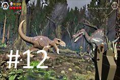 LEGO Jurassic World Game Level 12: The Spinosaurus (Gameplay Walkthrough...