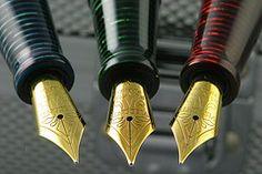 Complete Set of Visconti Manhattan Fountain Pens