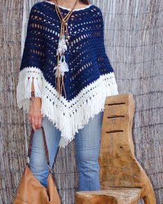 Crochet poncho 135389532536809727 - ideas crochet patterns free scarf winter knit scarves Source by eleinesiffointe Gilet Crochet, Crochet Scarves, Crochet Clothes, Knit Crochet, Doilies Crochet, Cute Crochet, Knitting, Navy, Free Crochet Poncho Patterns