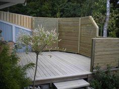 Insynsskydd radhus 1 Plank, Fence, Garden, Outdoor Decor, Home Decor, Pictures, Garten, Decoration Home, Room Decor