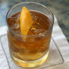 There's Nothing Old or Out of Fashion About the Old Fashioned Cocktail: Until I read Imbibe by David Wondrich, a wonderfully nerdy book about the history of boozin', I thought an old fashioned was bourbon served over ice, sugar, bitters, and a muddle of oranges and maraschino cherries.